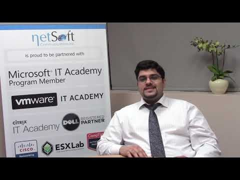 NetSoft College Testimonial Ahmed H. Babader