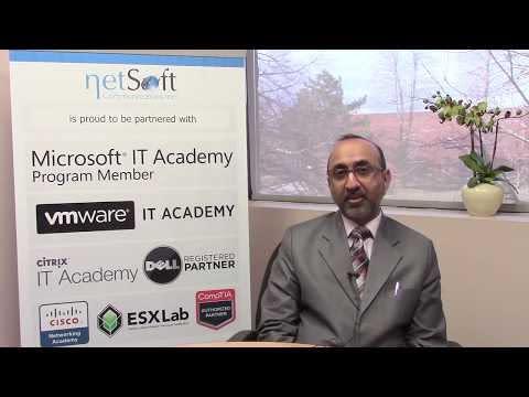 NetSoft College Testimonial Mohammad Shahbaz